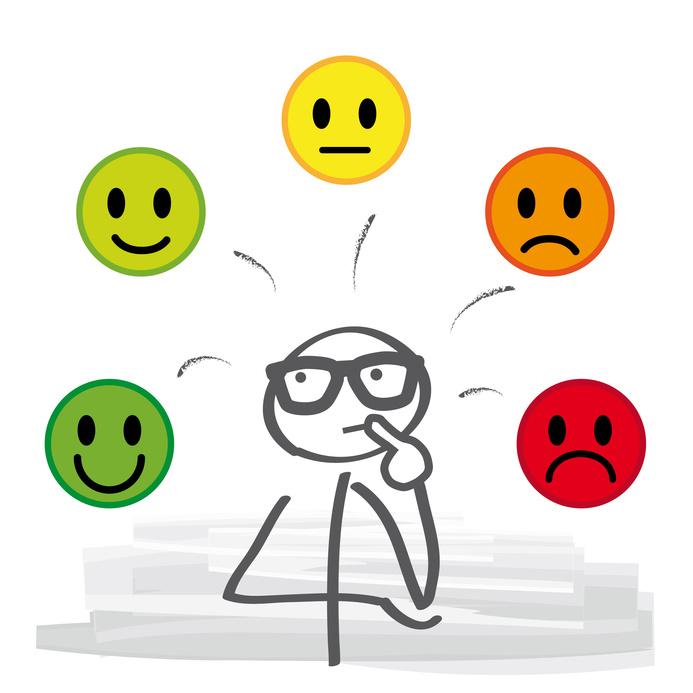 Kundenbewertungen - Zufriedenheit